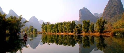 Guilin landscape is amazing
